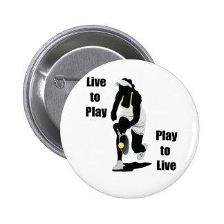 TennisChick vivo jugar Pins