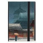 Tennô-ji Temple in Osaka hasui kawase shin hanga Cases For iPad Mini