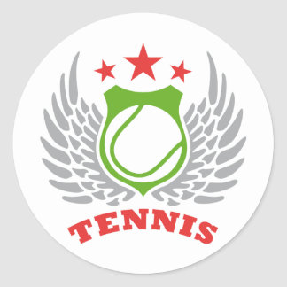 Tennsi Classic Round Sticker