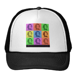 """Tennyson """"Love Is Long"""" Pop Art Gifts & Tees Trucker Hat"""