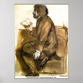 Tennyson Reading Maud Posters