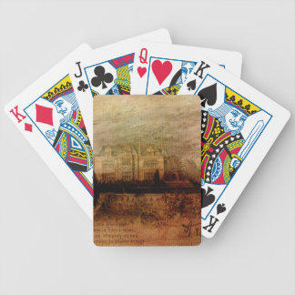 Tennyson's Manor Bicycle Playing Cards