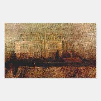 Tennyson's Manor Rectangular Sticker