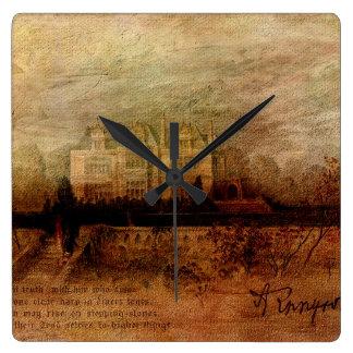 Tennyson's Manor Square Wall Clocks