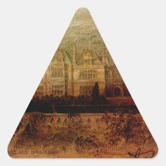 Tennyson's Manor Triangle Stickers