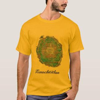 Tenochtitlan Map Shirt