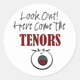 Tenor Classic Round Sticker