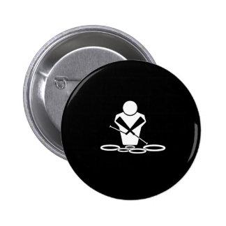 Tenor Drums 2 Inch Round Button