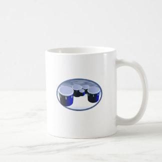 tenor drums coffee mug