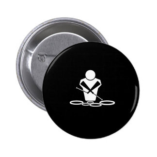 Tenor Drums Pinback Button