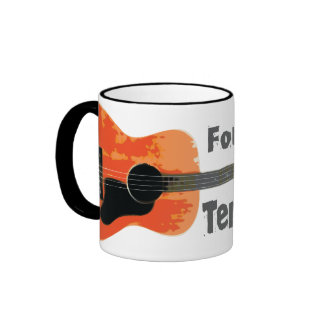 Tenor Guitar Ringer Coffee Mug