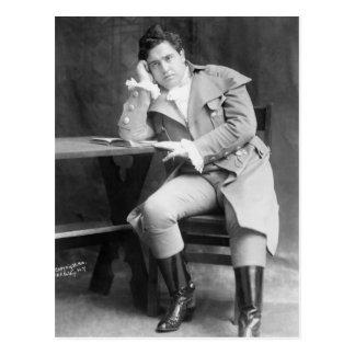 Tenor irlandés Juan McCormack: 1910 Postal