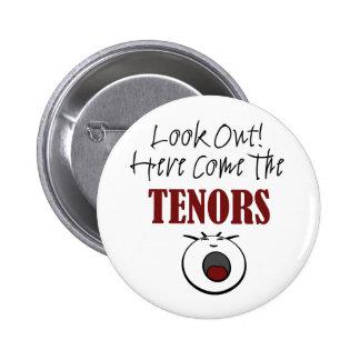 Tenor Pinback Button
