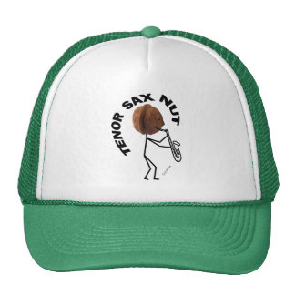 Tenor Sax Nut Trucker Hat