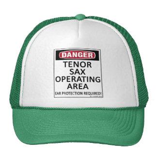 Tenor Sax Operating Area Trucker Hat