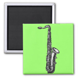 Tenor Saxophone 2 Inch Square Magnet