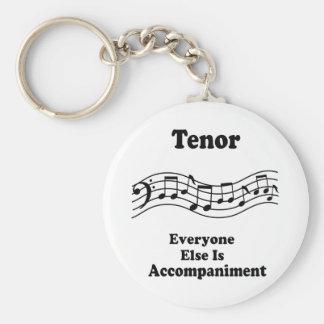 Tenor Singer Gift Keychain