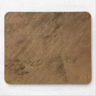 Tenoumer Crater in Mauritania Mouse Pad