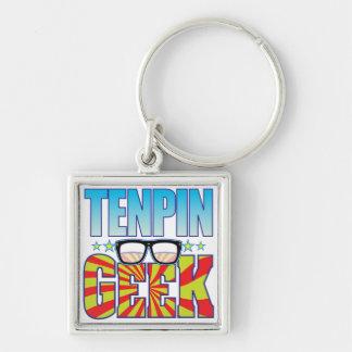 Tenpin Geek v4 Key Chain