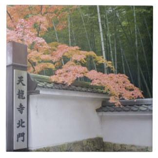 Tenryuji Temple North Gate Ceramic Tile