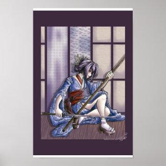 Tenshi the ninja geisha poster