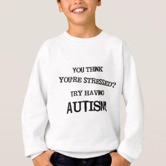 Tensión del autismo sudadera