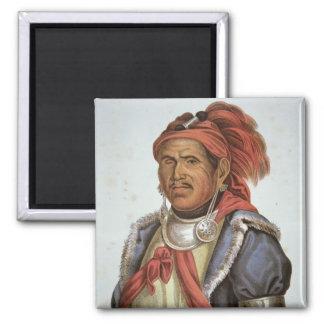 Tenskwatawa (1775-1836) (colour litho) magnet