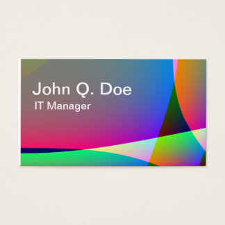 Tent Business Card
