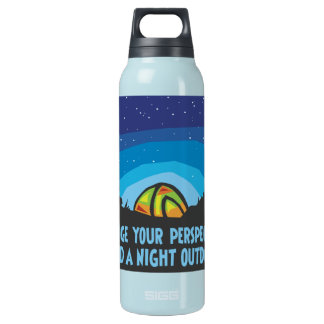 Tent Camping Insulated Water Bottle