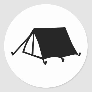 Tent - Camping Stickers