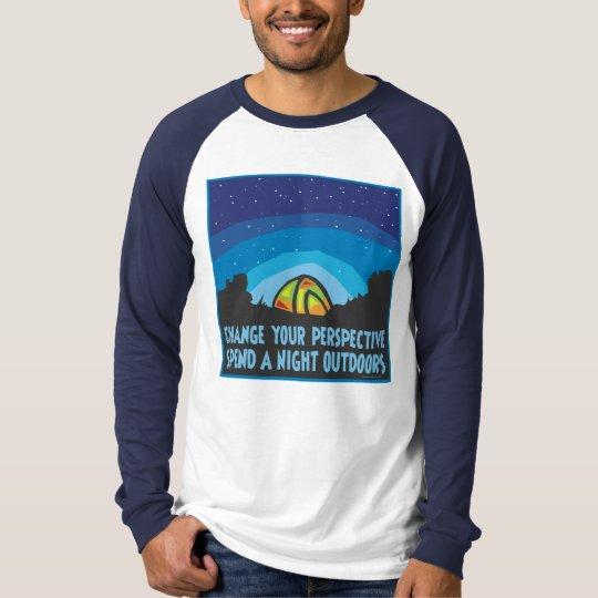 Tent Camping T-Shirt