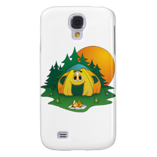 Tent Cartoon Galaxy S4 Cases