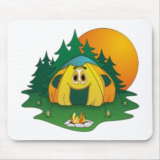 Tent Cartoon Mouse Pad
