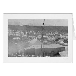 Tent City Anchorage, Alaska 1905 Card