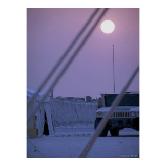 Tent City Kuwait Poster