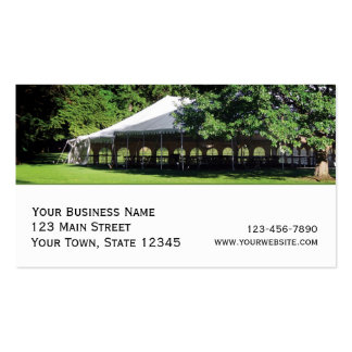 Party rentals business cards templates zazzle for Tent business cards