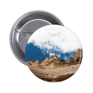 Tent Rocks Mountains New Mexico Pinback Button
