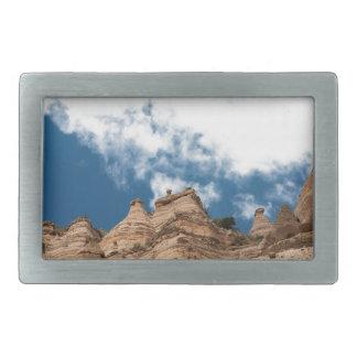 Tent Rocks Mountains New Mexico Rectangular Belt Buckle