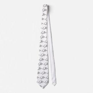 Tent Sketch Neck Tie