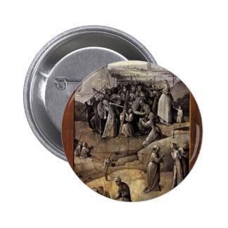 Tentación de Hieronymus Bosch de St Anthony Pin