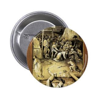 Tentación de Hieronymus Bosch de St Anthony Pins