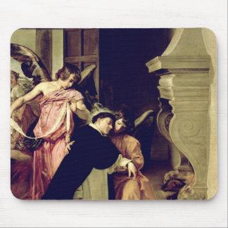 Tentación de St Thomas Aquinas Tapete De Ratón
