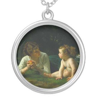 Tentación, William-Adolphe Bouguereau Colgantes Personalizados