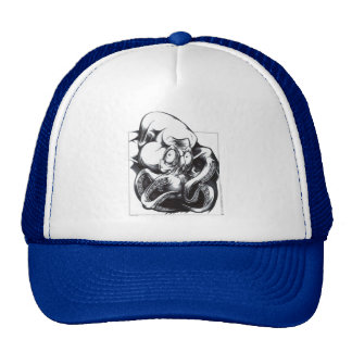 Tentacle Beast Mesh Hat