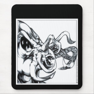 Tentacle Greeting Mouse Pad