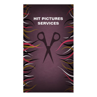 Tentacle Hall Barbershop Textiles Cards Business Card