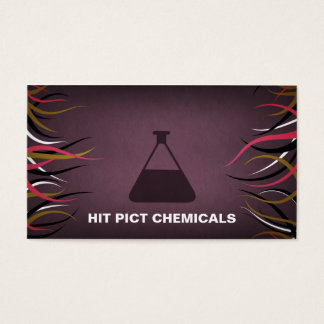Tentacle Hall Chemical Company Business Cards