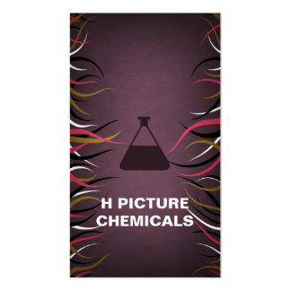 Tentacle Hall Chemical Company Vert. Business Card