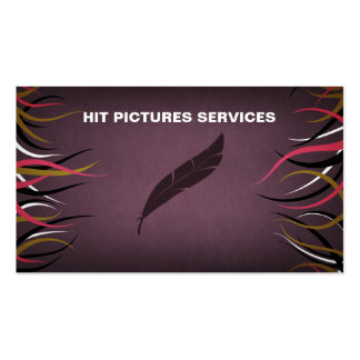 Tentacle Hall Educational Horizontal Cards Business Card