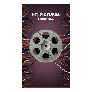 Tentacle Hall Entertainment Videographer Filmmaker Business Card